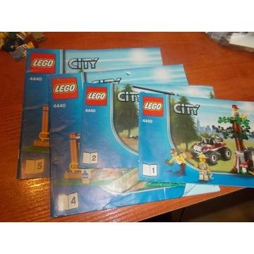 LEGO 4440 LEŚNY POSTERUNEK POLICJI OD 1 ZŁ