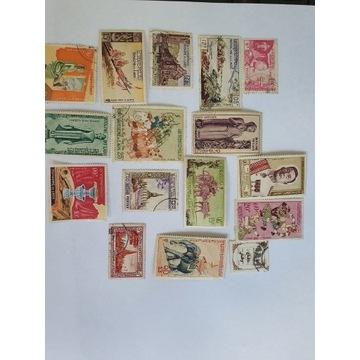 Stare znaczki Laos