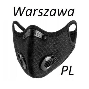 Maska FFP3 N99 antysmogowa antywirusowa PL 24h