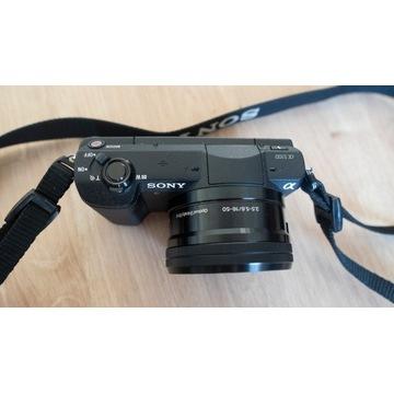 Aparat Sony A5100 + 16-50mm + pokrowiec / 3730zdj