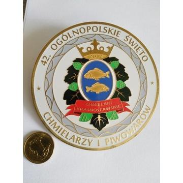 Odznaka Ogólnopolskie Święto Chmielarzy Piwowarów