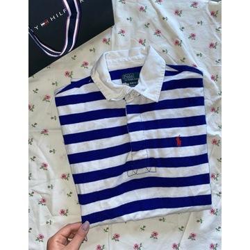 Koszulka polo w paski Polo Ralph Lauren bluzka