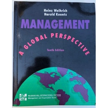 MANAGEMENT A GLOBAL PERSPECTIVE