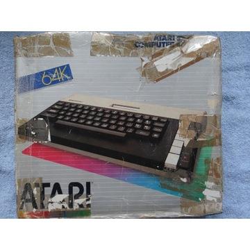 ATARI 800 XL ZESTAW GRY MAGNETOFON JOYSTICK RF