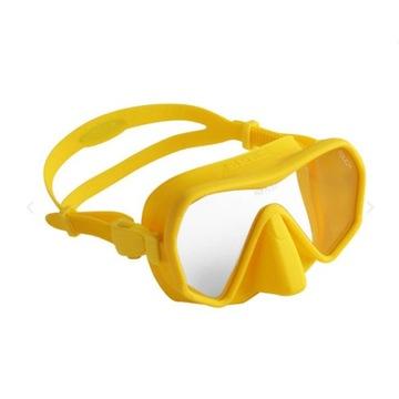Maska SEAC TOUCH frameless żółty silikon