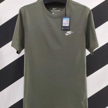 Nike TEE t-shirt klasyka khaki rozmiar S