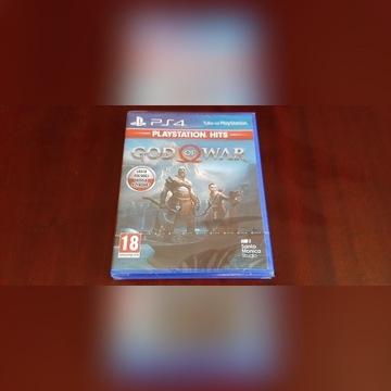 God of War PS4 PL - nowa, folia