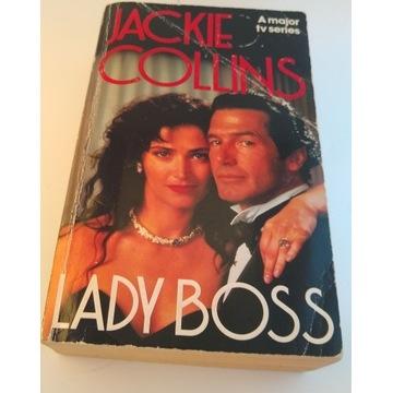 Lady Boss, Jackie Collins, angielski, English