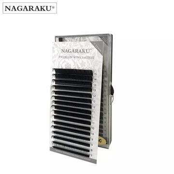 Rzęsy NAGARAKU Premium Mink D 0,12 MIX 16 pasków