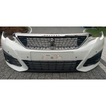 Zderzak Peugeot 308 t9 lift 17- 4 pdc Full led KWE