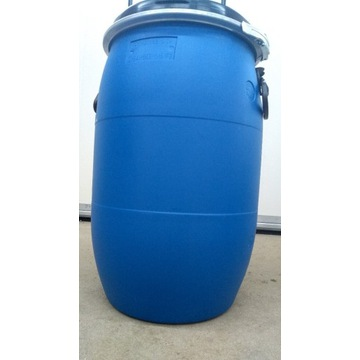 Beczka plastikowa z deklem 60 L litrów