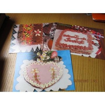 pocztówki MAZURKI ciasta, przepisy
