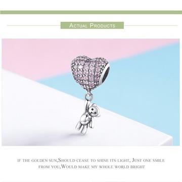 charms srebro do bransoletki Pandora, Apart