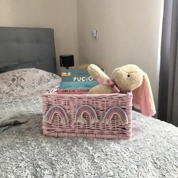 koszyk na zabawki prezent dla dziewczynki