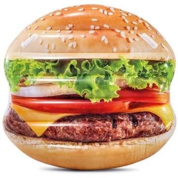 Materac dmuchany Hamburger Island 145x142cm Intex