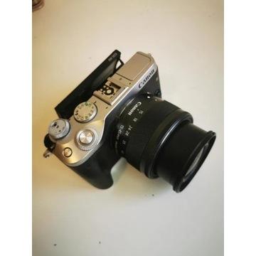 Canon EOS M6 + 15-45mm + dodatkowa oryginalna bate