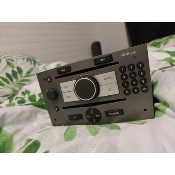Radio Opel CD70 NAVI ASTRA ZAFIRA CORSA wylogowane
