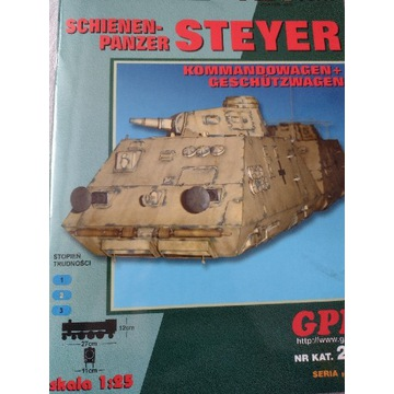 Model kartonowy GPM Steyer