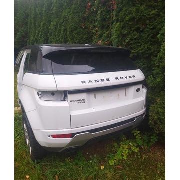 Range Rover Evoque tył, dach, panoram