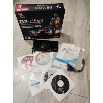 Asus XONAR D2/PM 7.1