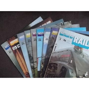 HISTORY OF RAILWAYS nr 21,22,23,24,25,26,27,28,03
