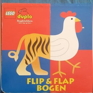 UNIKAT __ Lego duplo __ książeczka flip&flap bogen