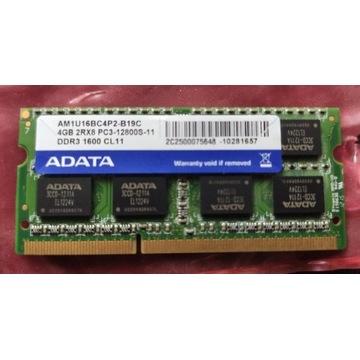 Pamięć RAM 4GB DDR3 1600 CL11 12800S