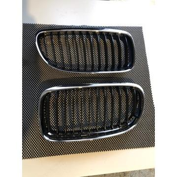 NERKI/GRILLE CHROMOWANE POLIFT BMW E90/91 SERIA 3