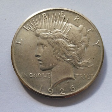 USA 1 DOLAR - 1926 - PEACE - SREBRO