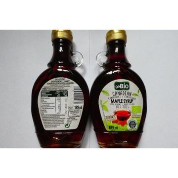 Go Bio organic - syrop klonowy z kanady 189 ml