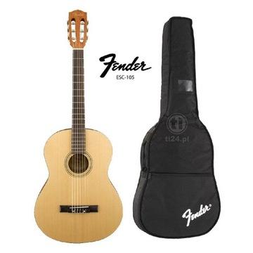 Gitara Klasyczna Fender ESC-105