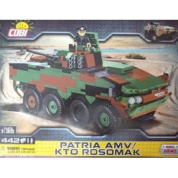 COBI 2616 Small Army KTO Rosomak Patria AMV NOWY