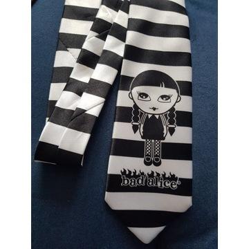 Krawat młodzieżowy Bad Alice