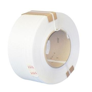 Taśma spinająca PP 12mm/0,60mm/3000m Biała