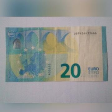 Banknot z seria 666