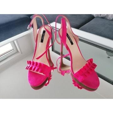 Szpilki różowe sandałki Orsay 39 nowe