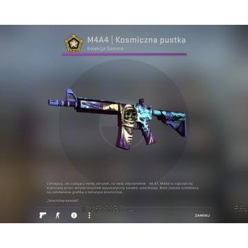 M4A4|Kosmiczna pustka FT SKIN Broń CS GO Najtaniej