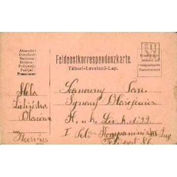 1916 - Błażowa (Rzeszów) - kamufl.st.okręg. IX-112