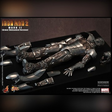 Sideshow Hot Toys Iron Man MK2 Armor Unleashed