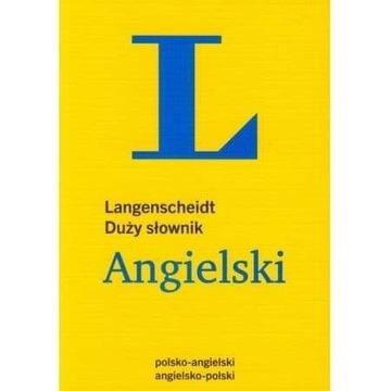 Langenscheidt Słownik kieszonkowy Angielski i duży