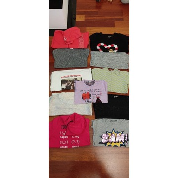 Bluza, sweter, nike, h&m, reserved 140/146cm