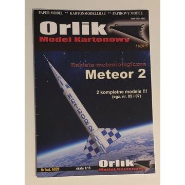 Meteor 2 - rakieta meteorologiczna - Orlik