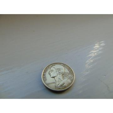 Moneta Republique Francaise 5 Centimes 1968r