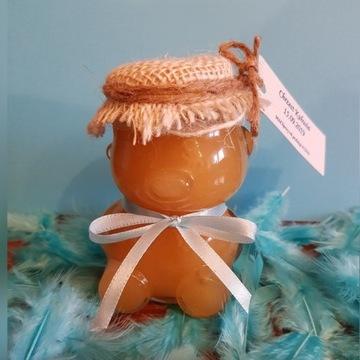 Miodek 30 ml słodki upominek dla gości na chrzest