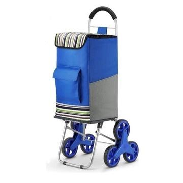 Wózek na zakupy, torba na kółkach super jakość