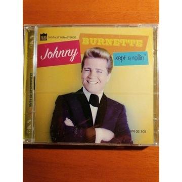 JOHNNY BURNETTE KEPT A ROLLIN NOWA 2CD