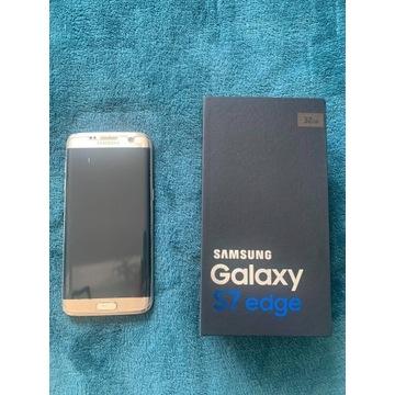 Samsung Galaxy S7 edge 32GB złoty + dodatki