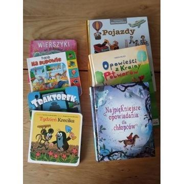 Zestaw książek dla chłopca