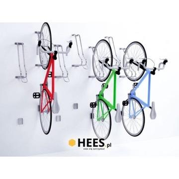 Wieszak rowerowy WS-2 firmy HEES - 4 sztuki