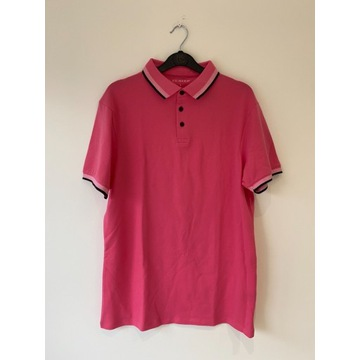 PRIMARK koszulka bluzka polo różowa  L *NOWA*192